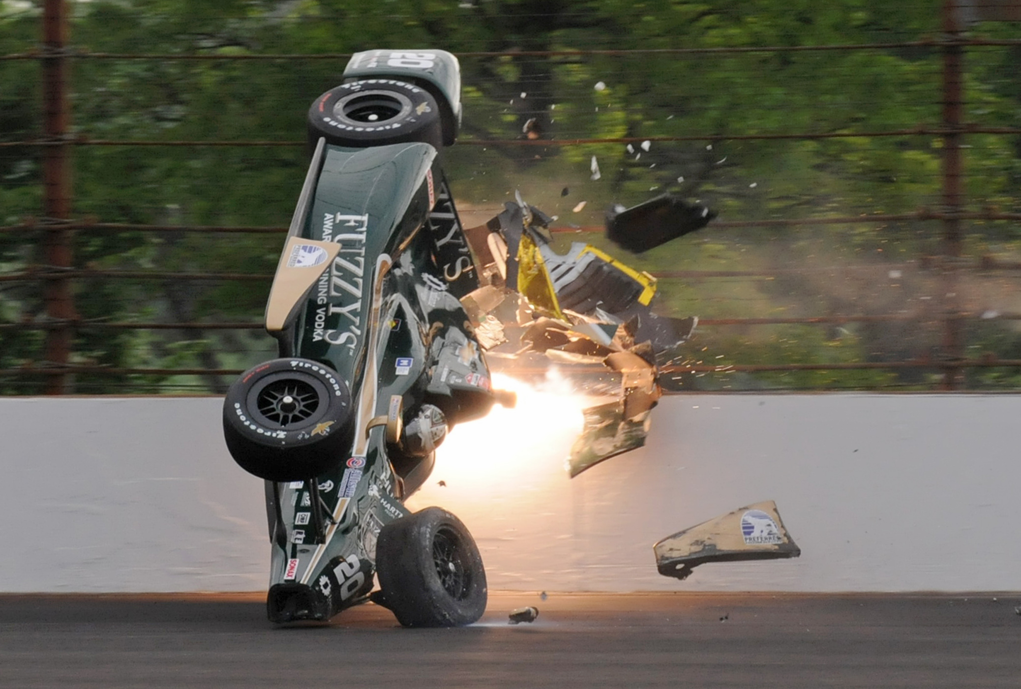 At Indianapolis 500, airborne cars add anxiety, mystery to ...