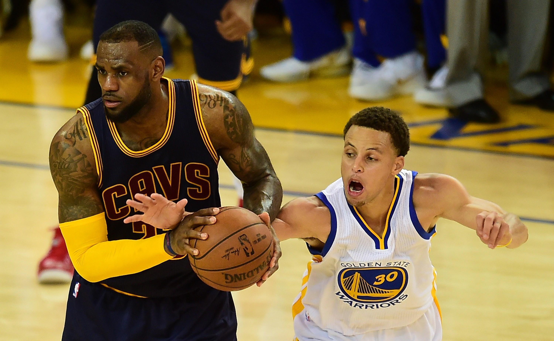 Stephen Curry & LeBron James - MVP vs MVP: Lebron James ...