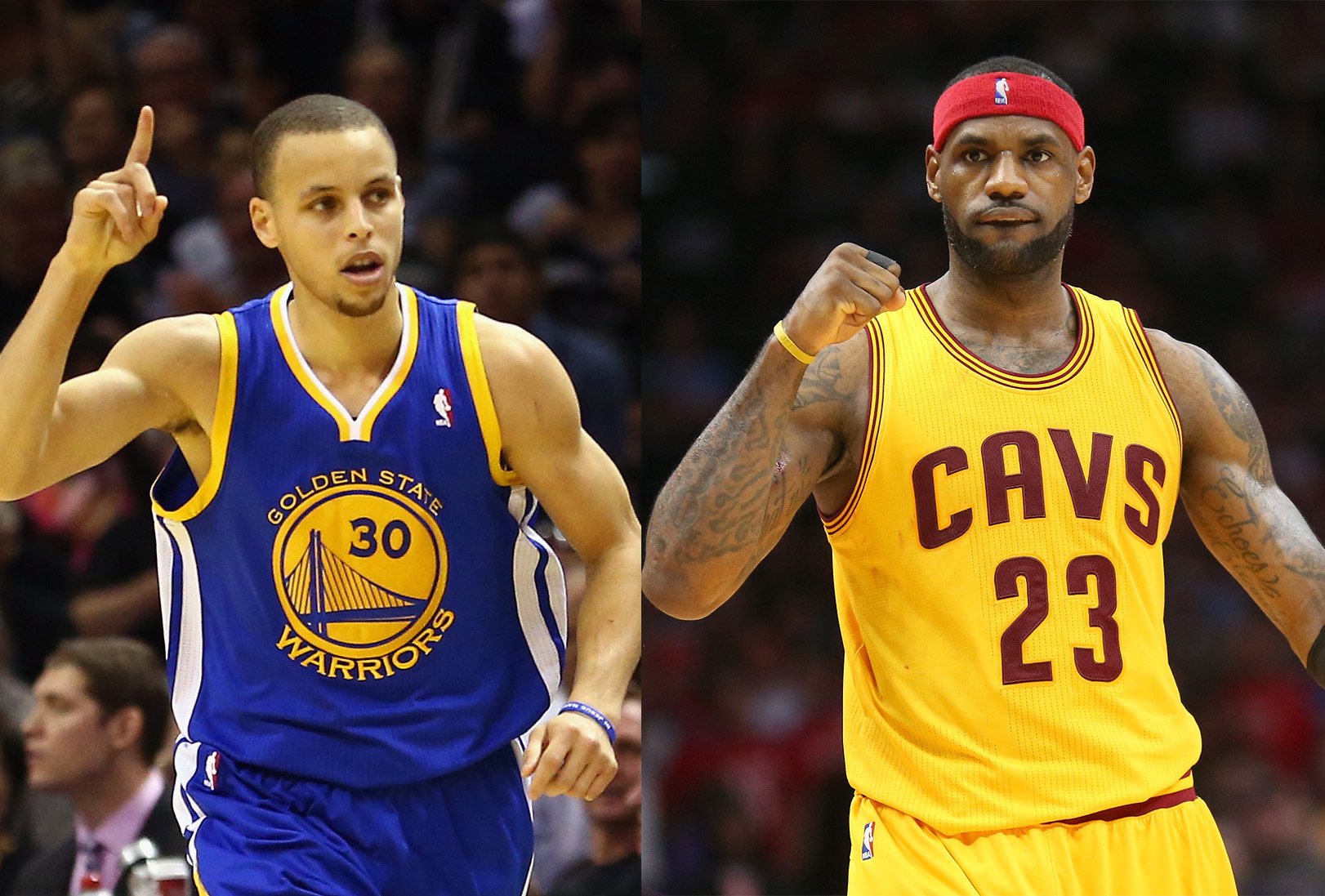 Stephen Curry & LeBron James - MVP vs MVP: Lebron James ...