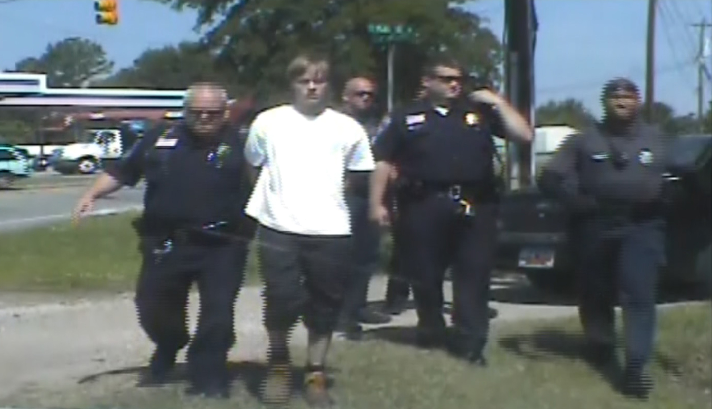 Arrest Of Charleston Shooting Suspect Dylann Roof Seen In