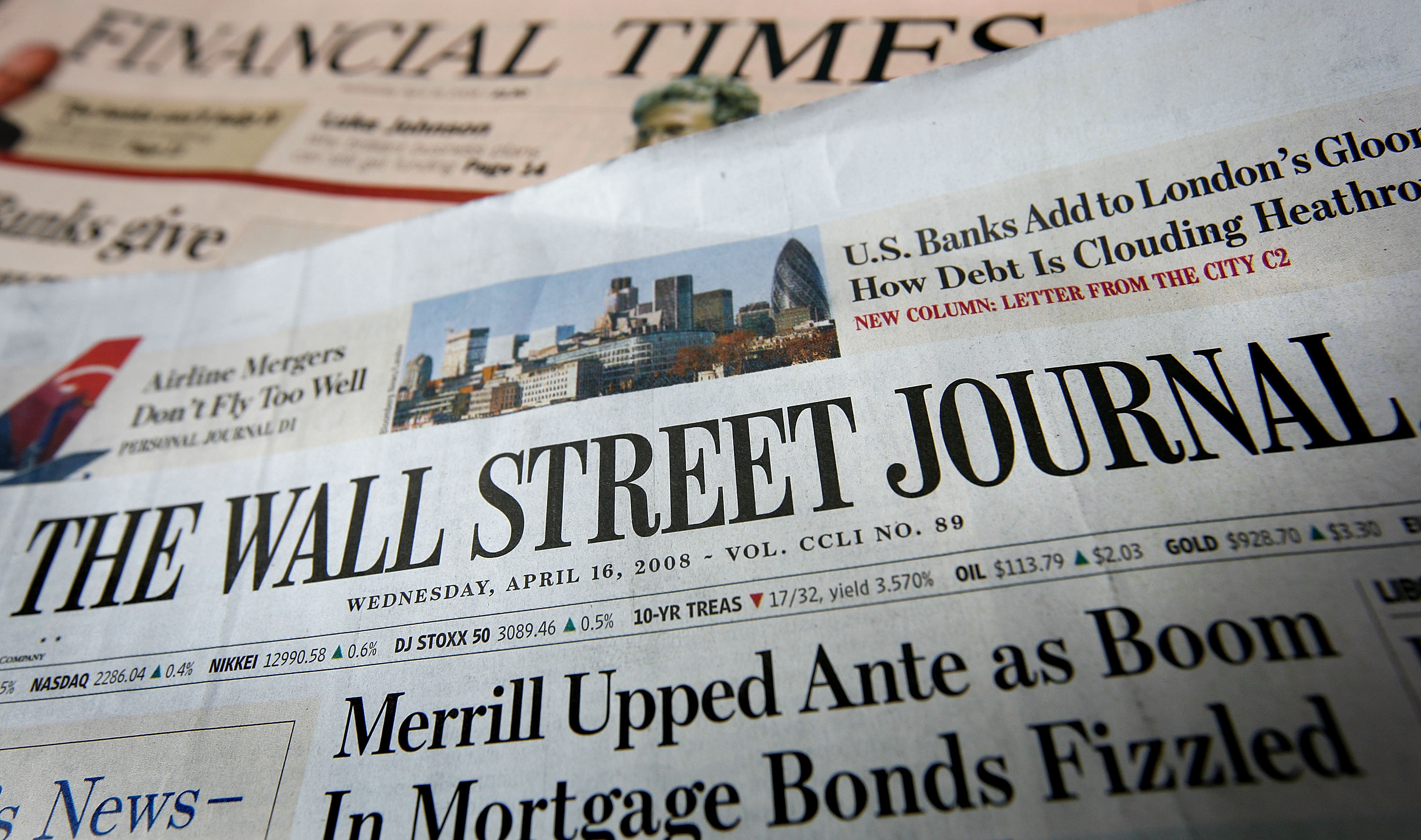 wall street journal fires top journalist after evidence of business deal