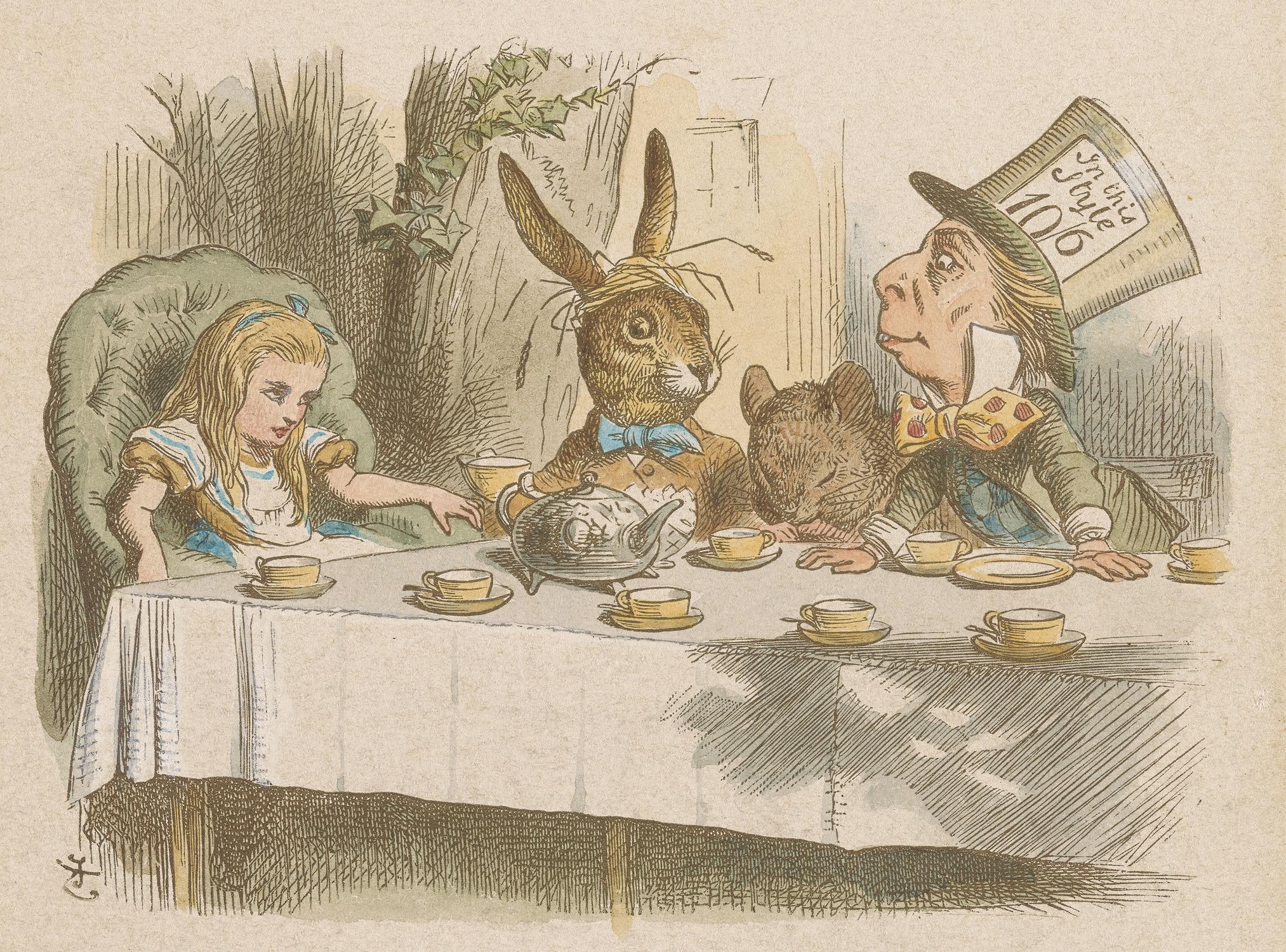 Walt Disneys Alice in Wonderland Little Golden Books