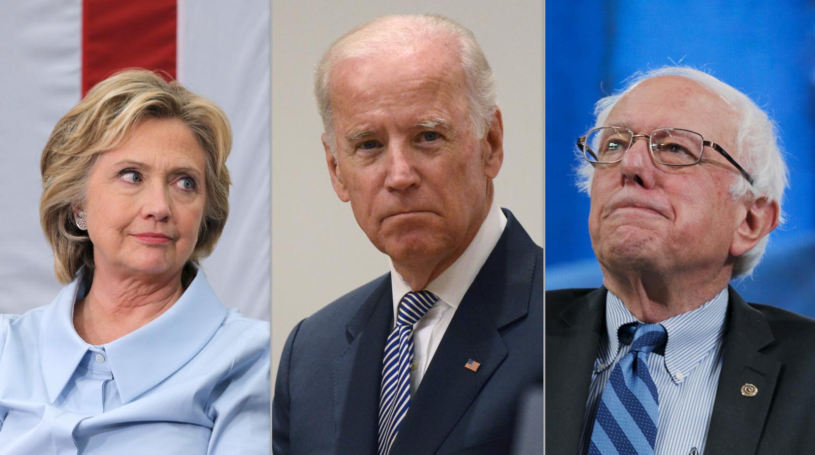 Vice President Joe Biden campaigns for Hillary Clinton in