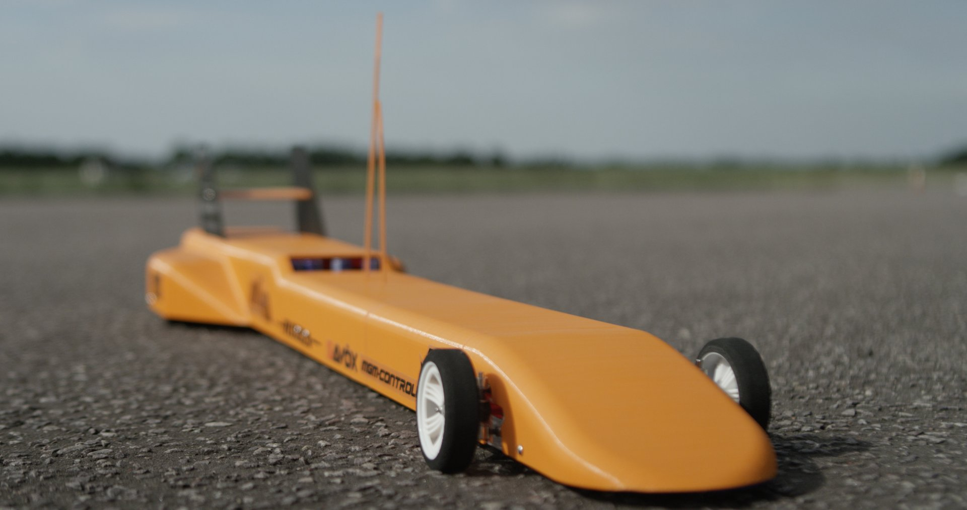 Watch A 3d Printed Remote Controlled Car Go 100 Mph Cbs News