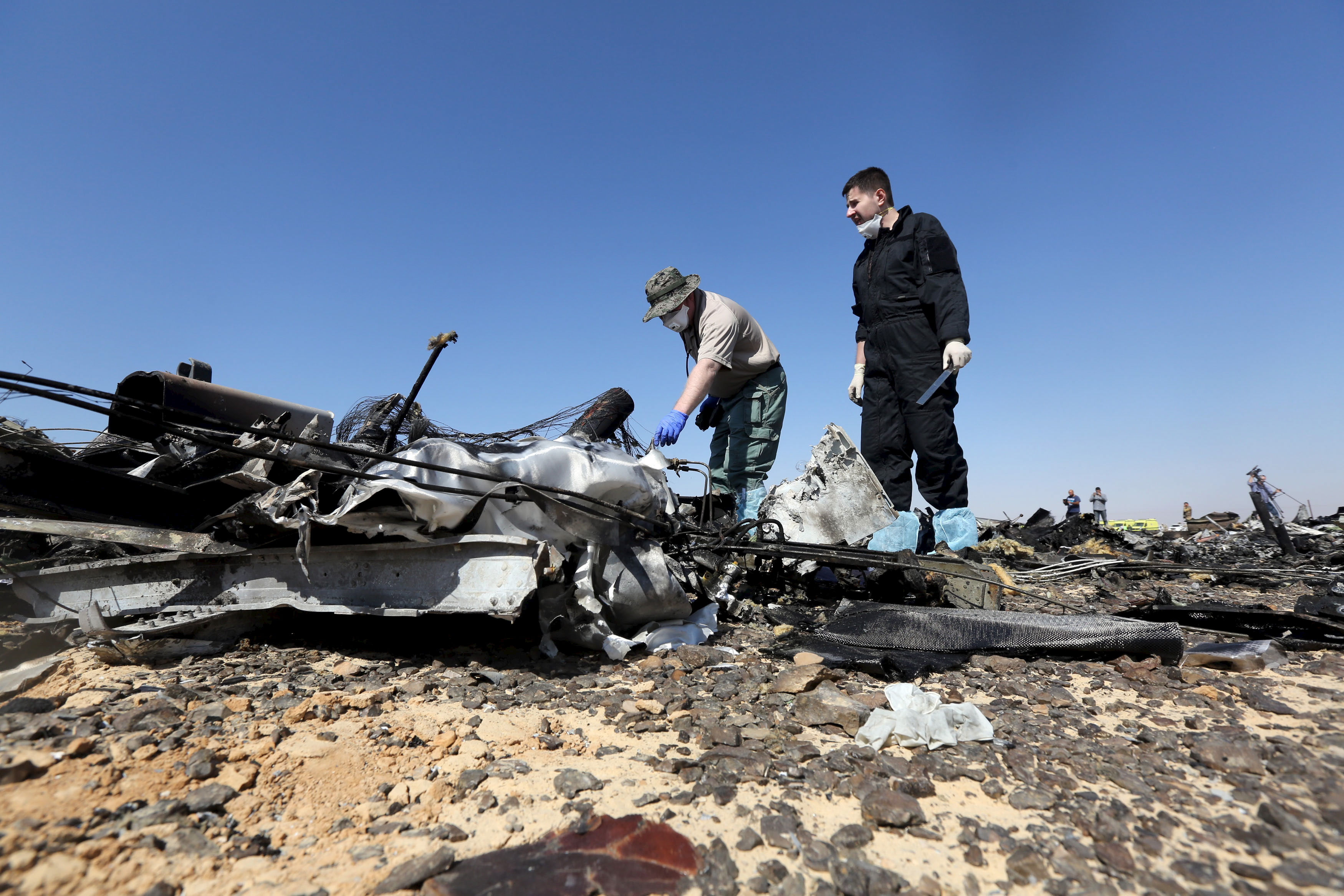 Satellite detected heat flash at time Russian jetliner went down