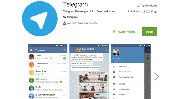 How to access blocked telegram channels on iphone