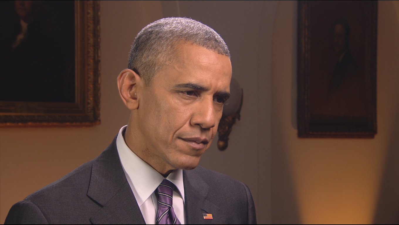 President Obama defends his strategy against ISIS