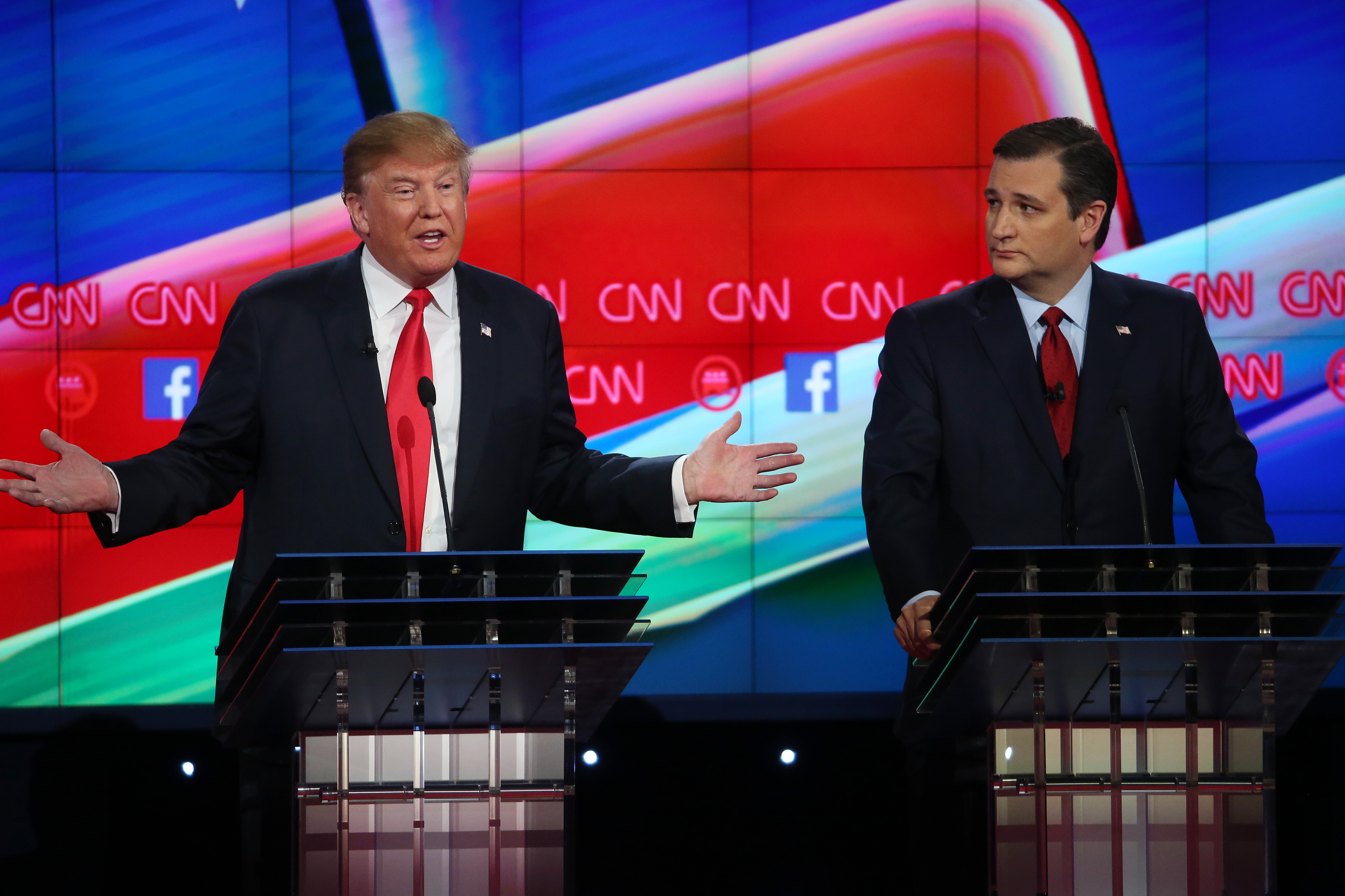marco rubio republican debate in las vegas pictures