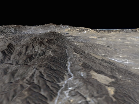 San Andreas Fault From Space New earthquake ...