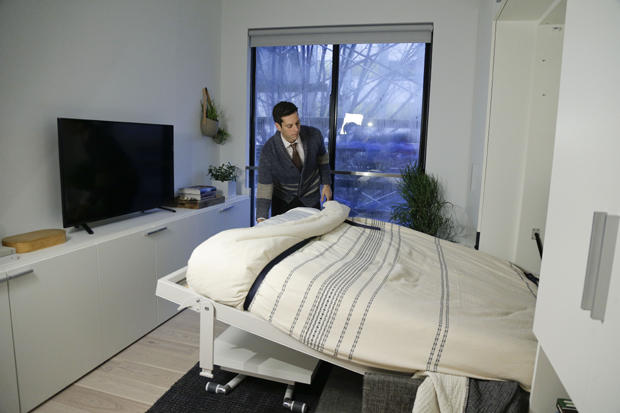 New York City May See More Quot Micro Quot Apartments Cbs News