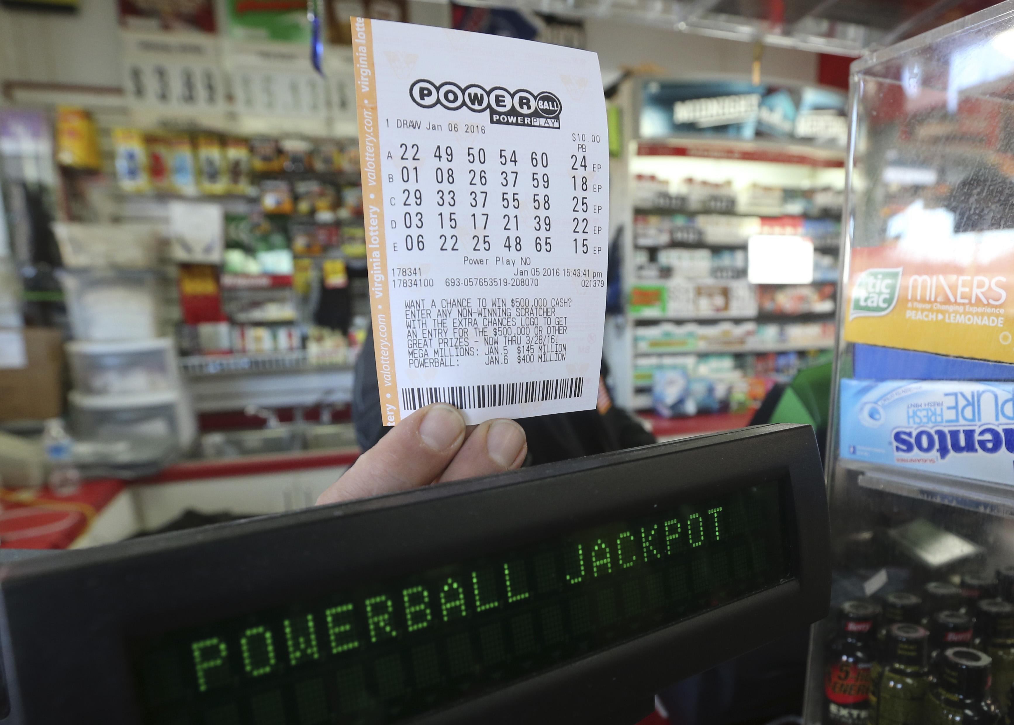 Winning Powerball Numbers Picked For 500m Jackpot Cbs News