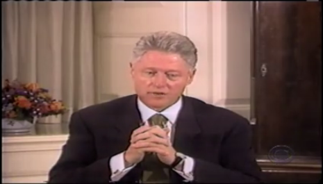 the circus of president clintons impeachment trial Do you think bill clinton's impeachment was justified  president bush has not  a political and media circus which cannot result in a.