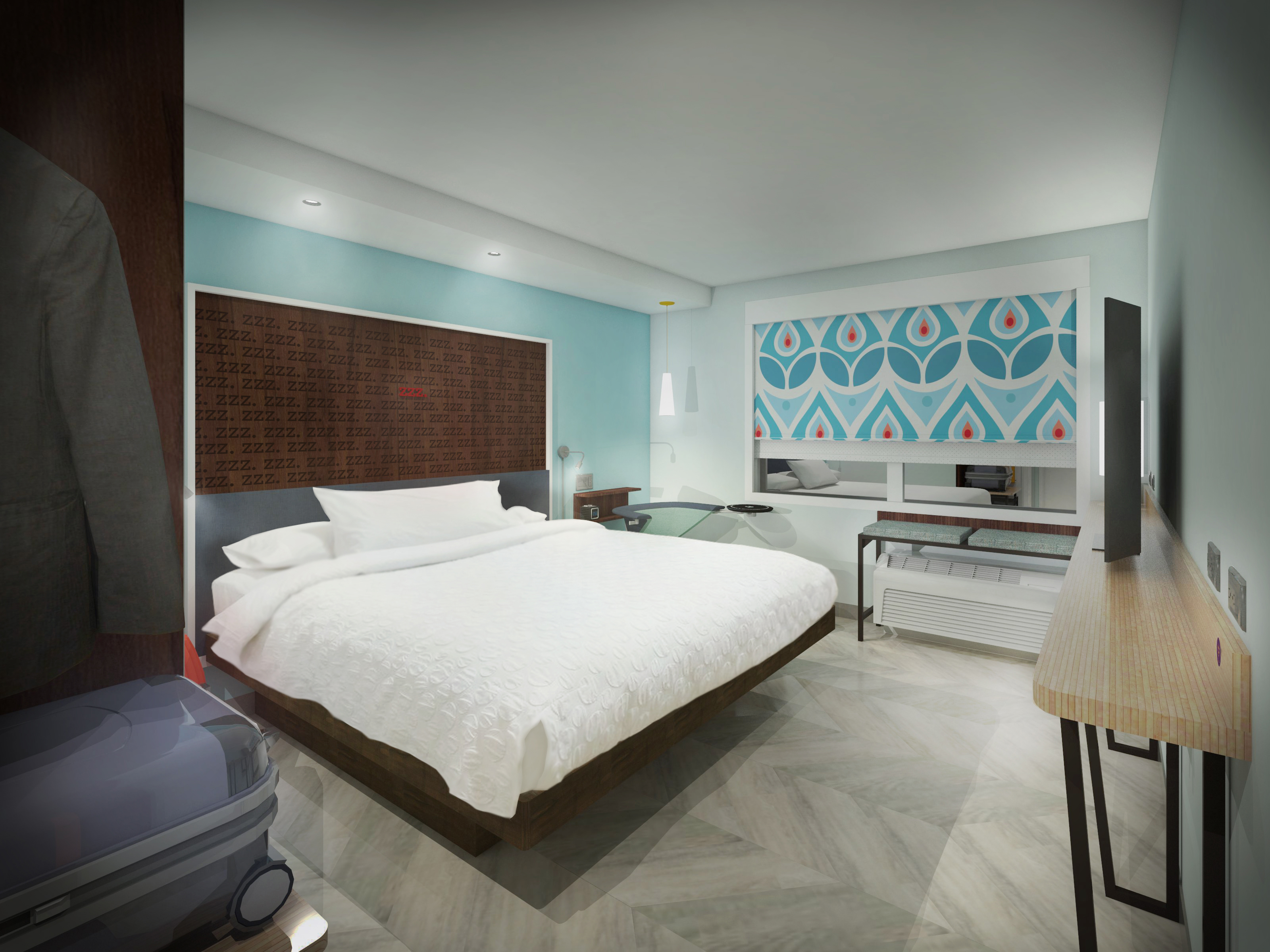 Hilton launches new budget hotel chain aimed at young for Design budget hotel salinenparc 0 sterne
