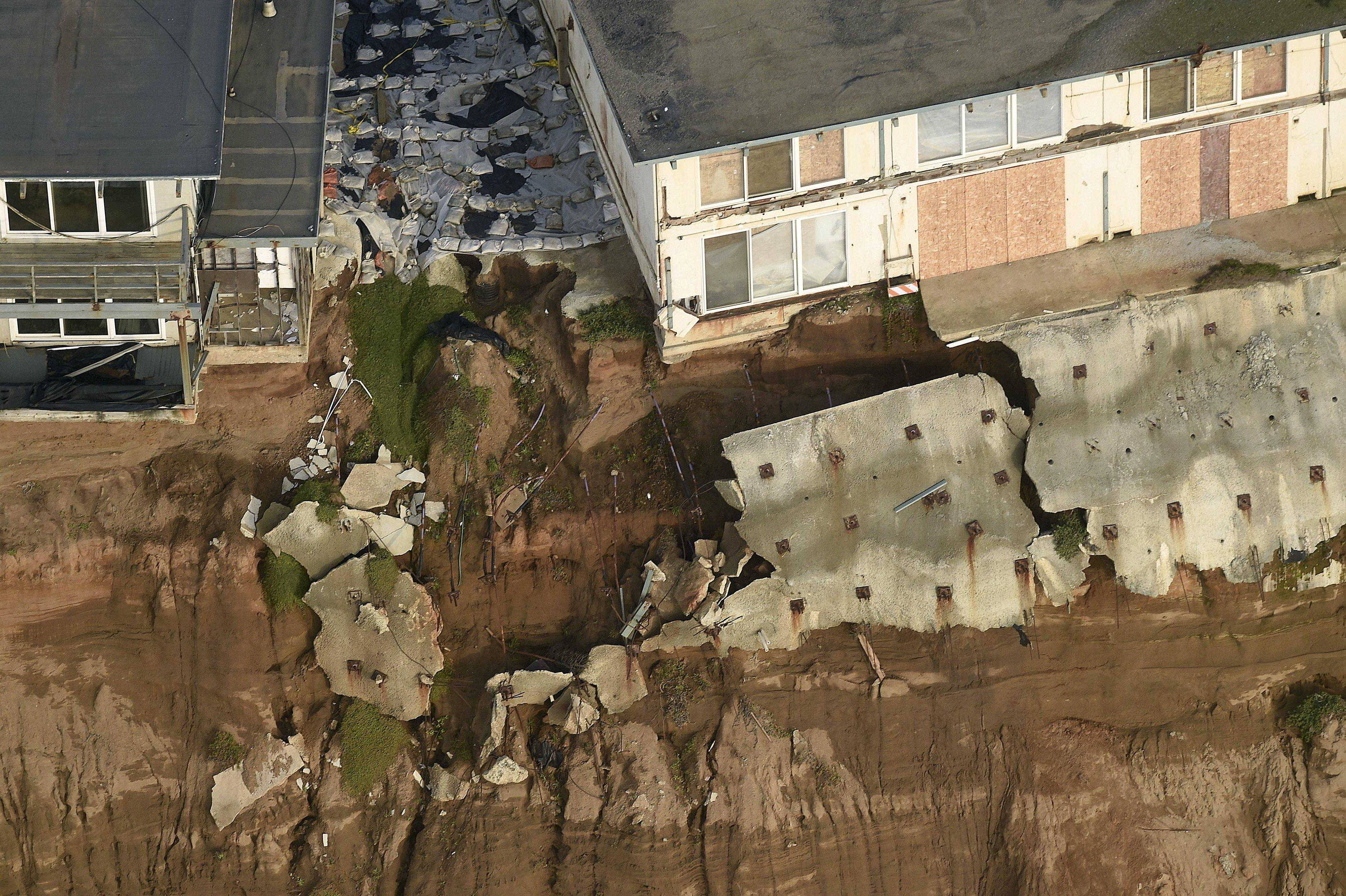 California Officials Seek Help For Threatened Clifftop