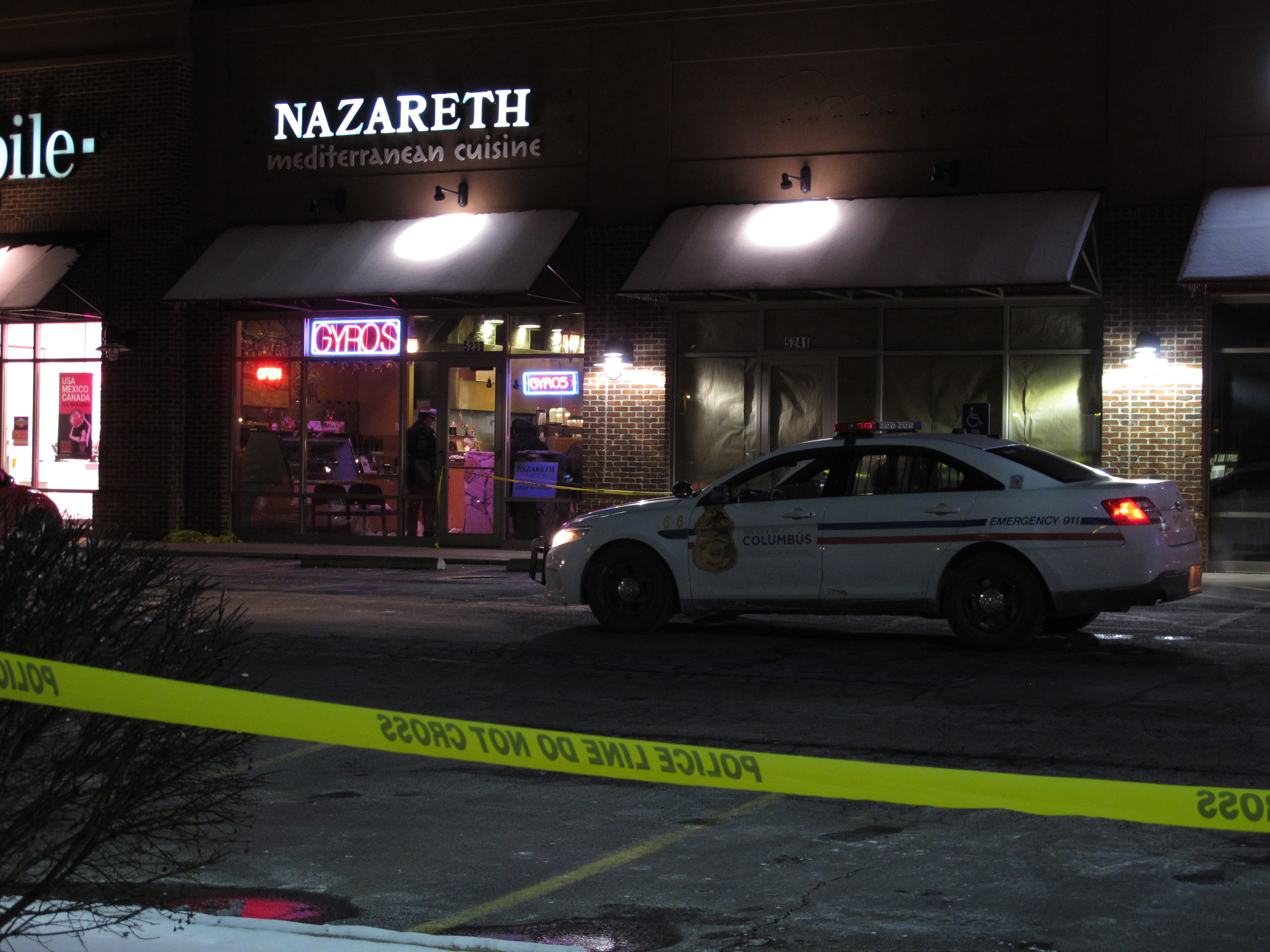Where Is Nazareth Restaurant In Columbus Ohio
