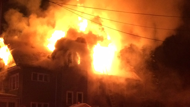 New york dad dies after carrying daughter out of burning for House hits 88