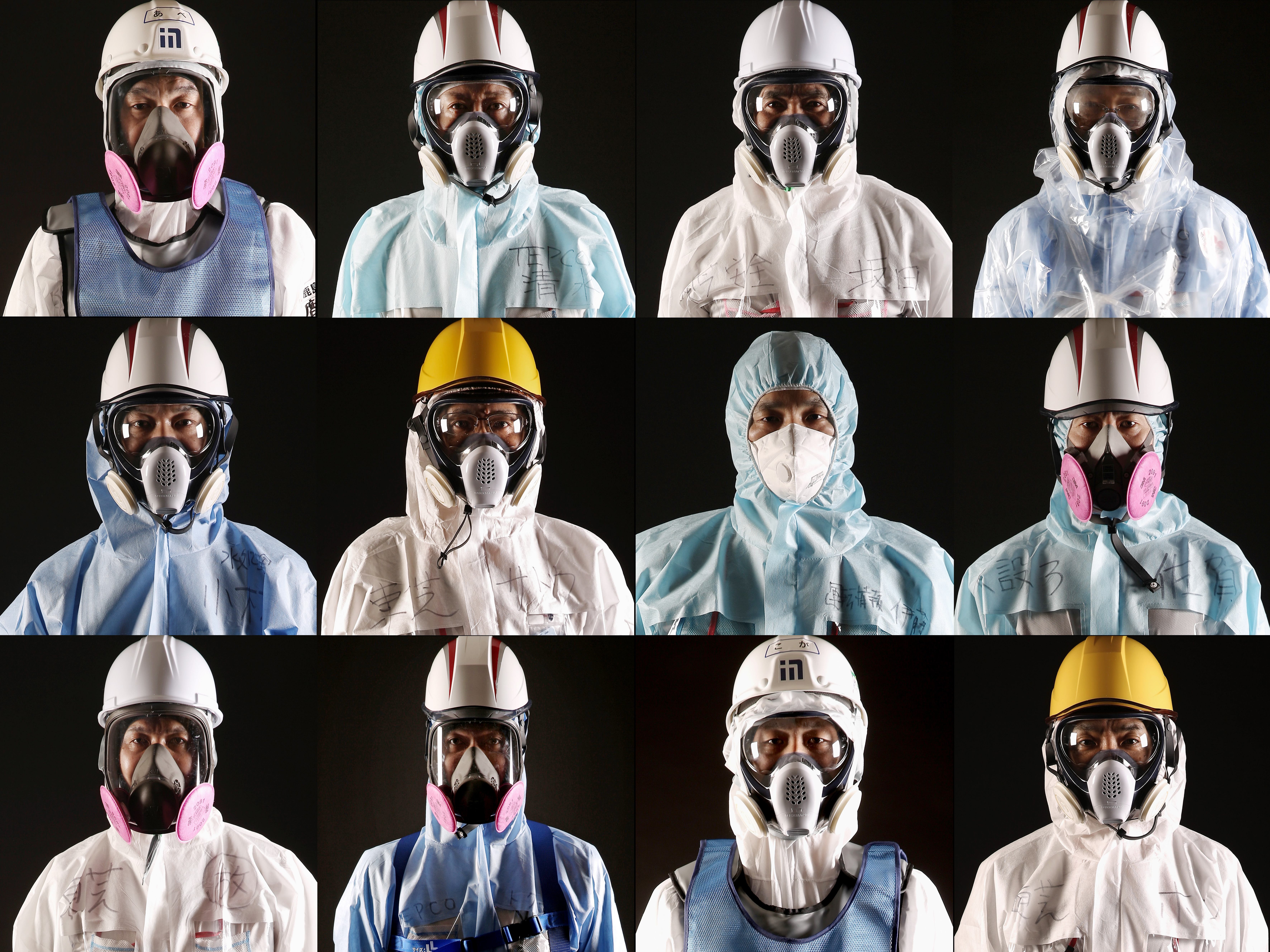 PHOTOS: The Fukushima disaster workers