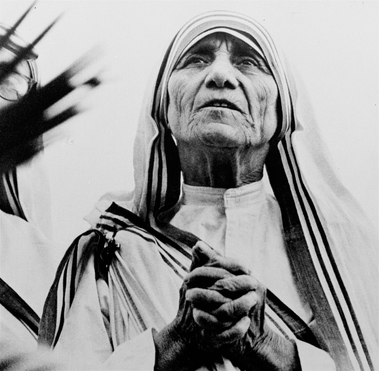 Image result for Mother Teresa, now St Teresa photo
