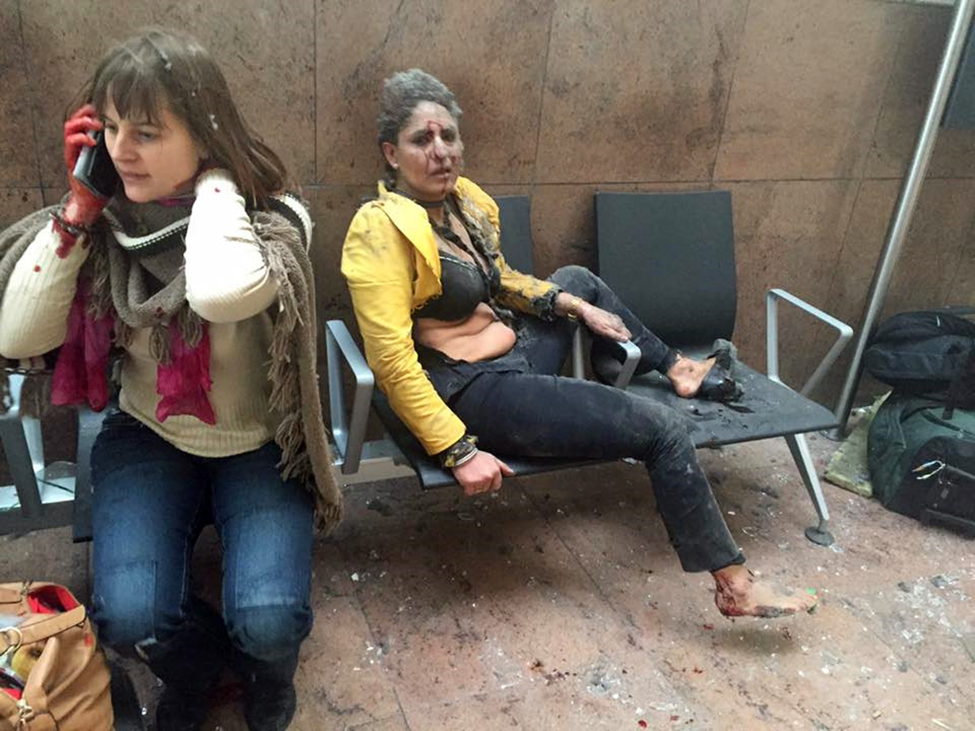 Deadly explosions rock Brussels airport, subway