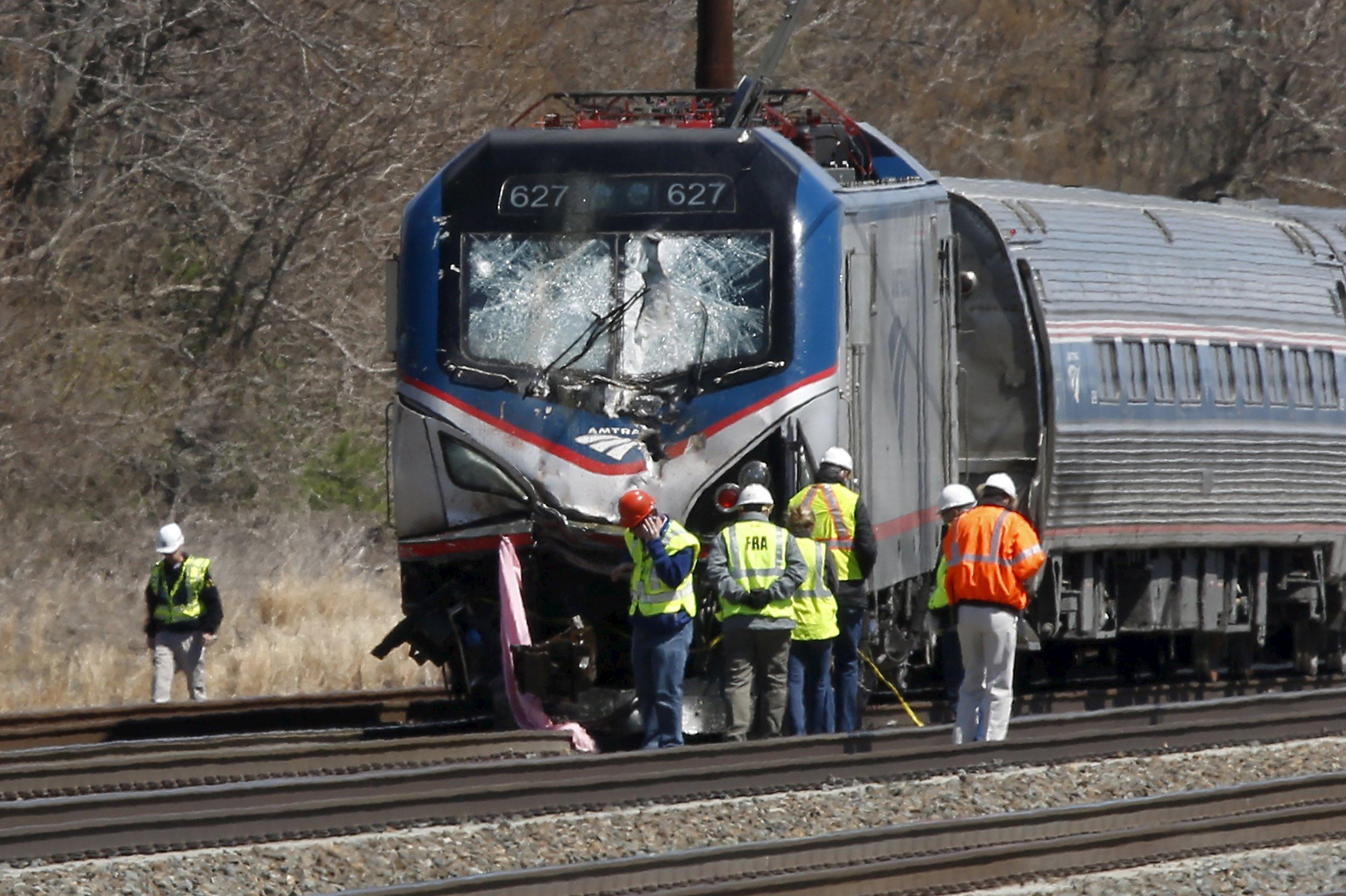 Amtrak Train Struck Backhoe At 106 Mph In Fatal Derailment