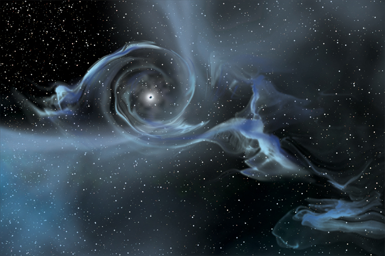a black hole being sucked into - photo #15