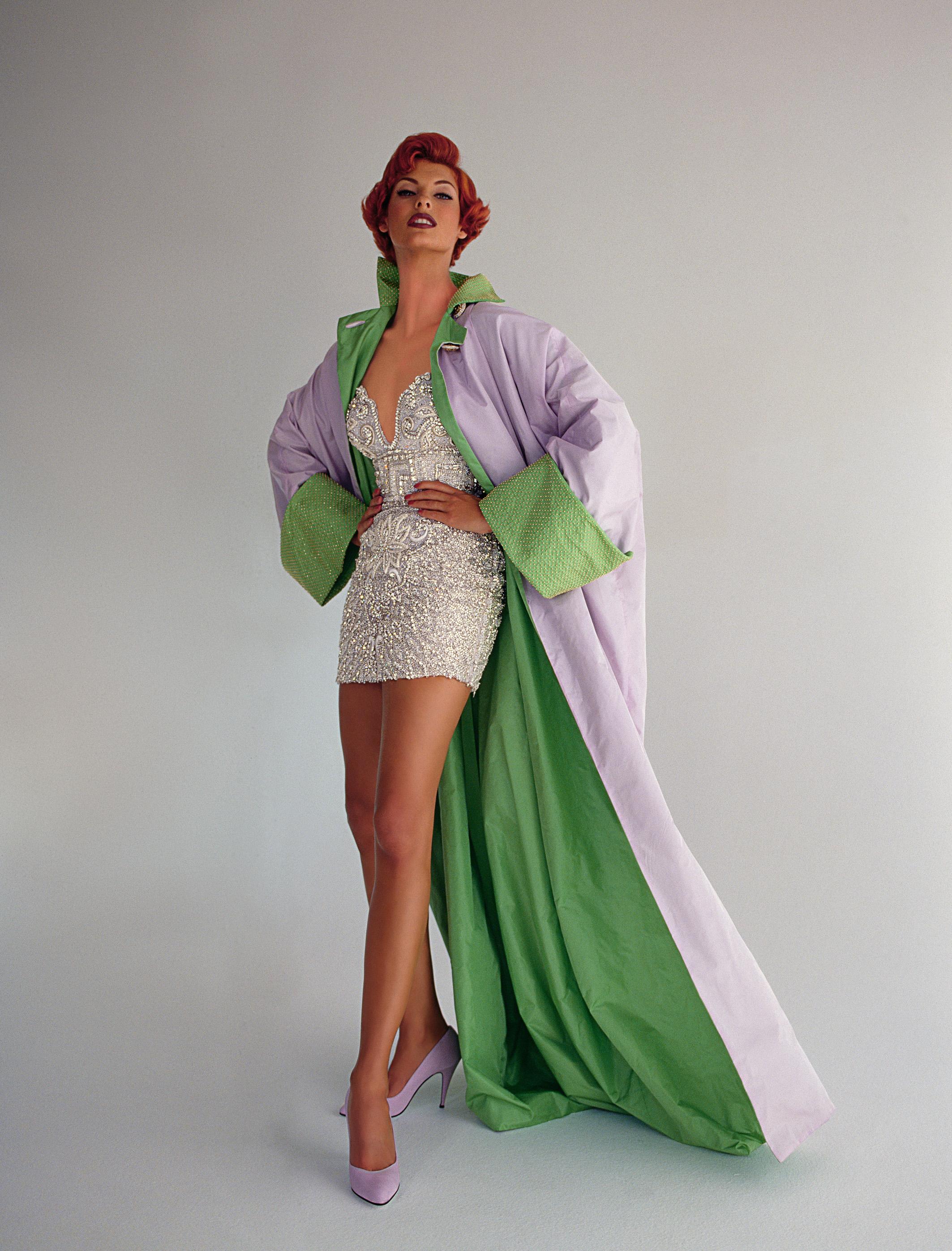Vogue 100 Linda Evangelista Vogue Celebrates 100 Years