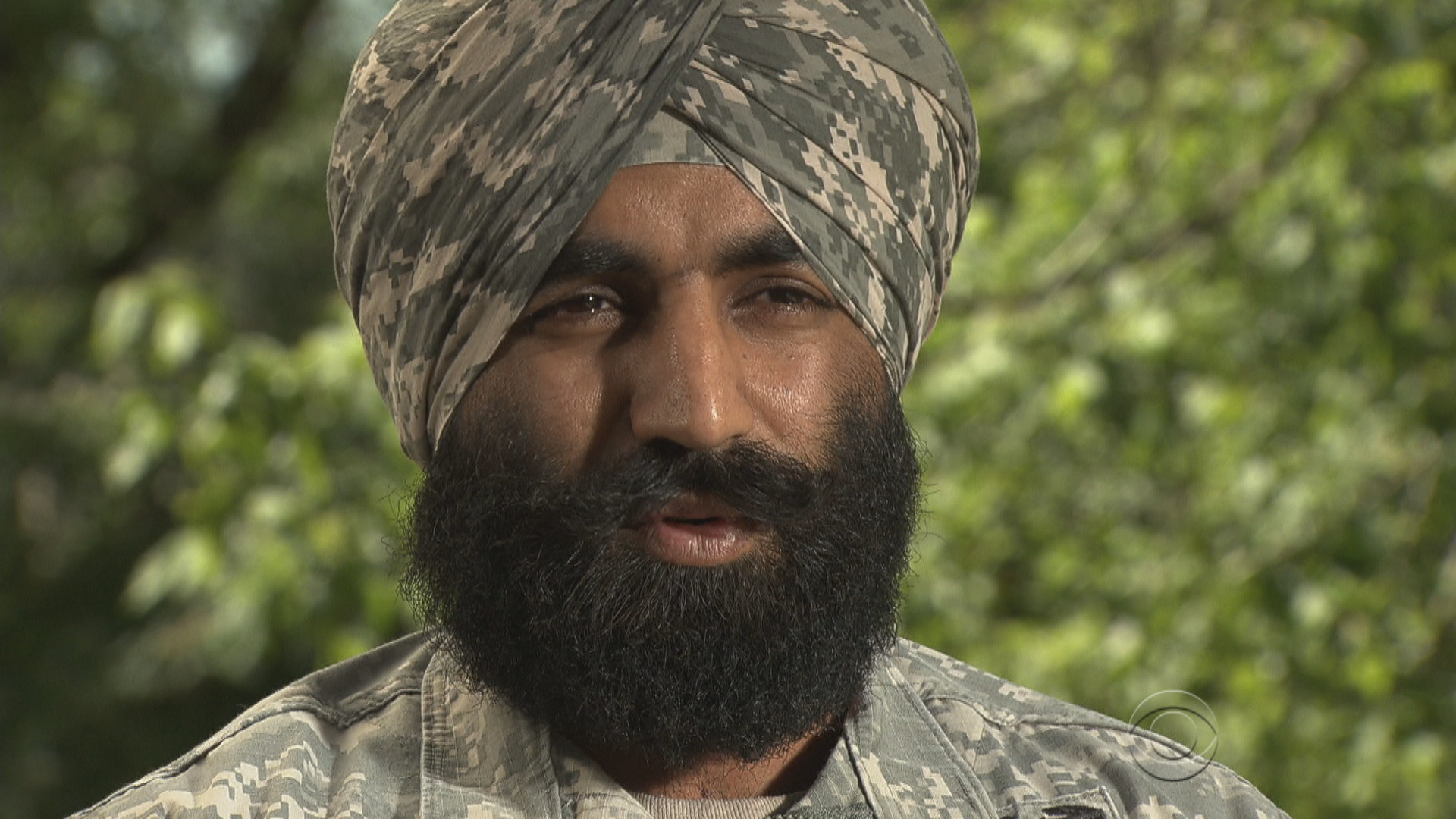 U Beard Sikh U.S. Army captain...