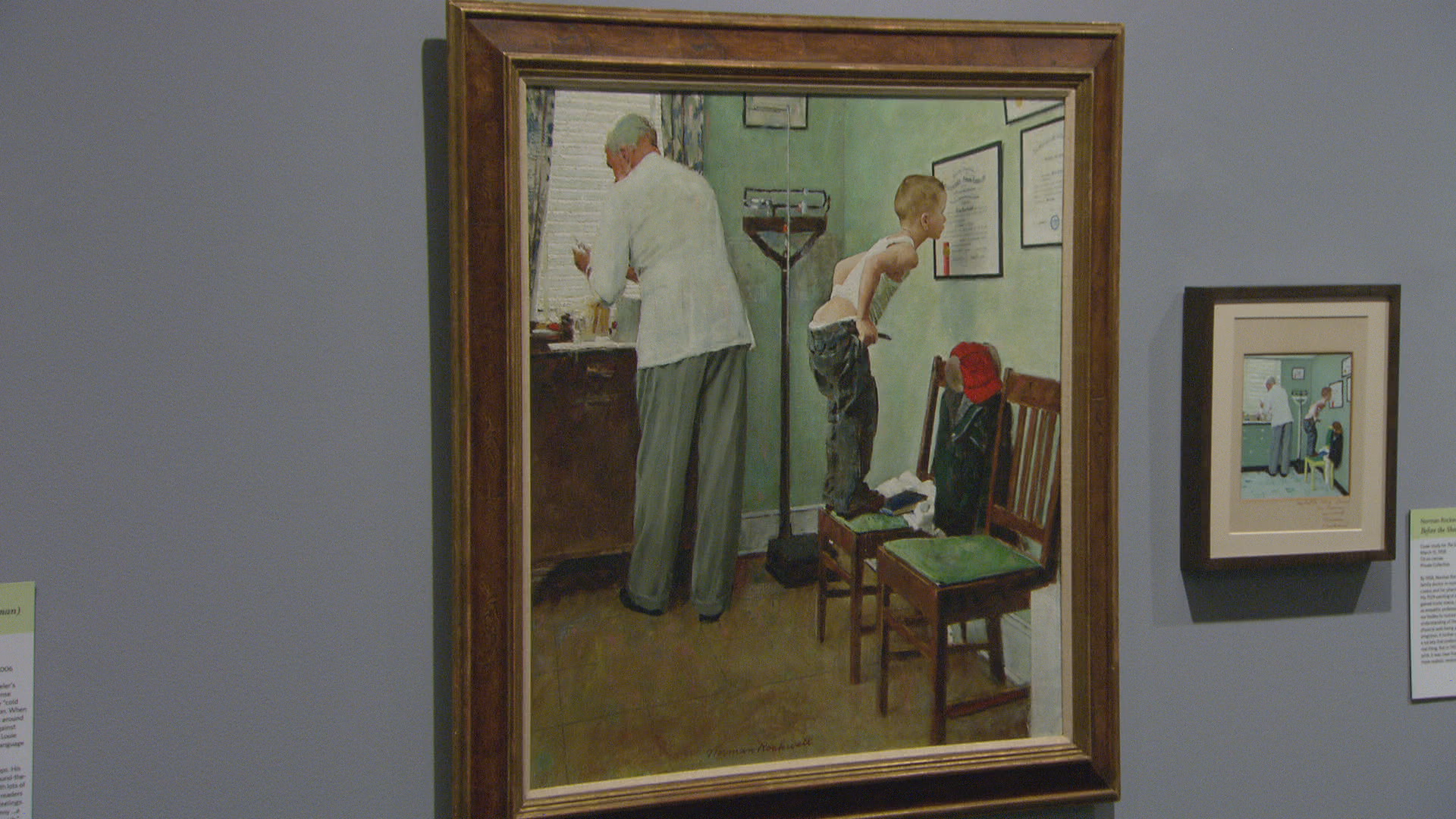 The Making Of Norman Rockwell S Famous Paintings Cbs News