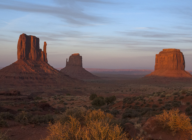 nature up close monument valley cbs news