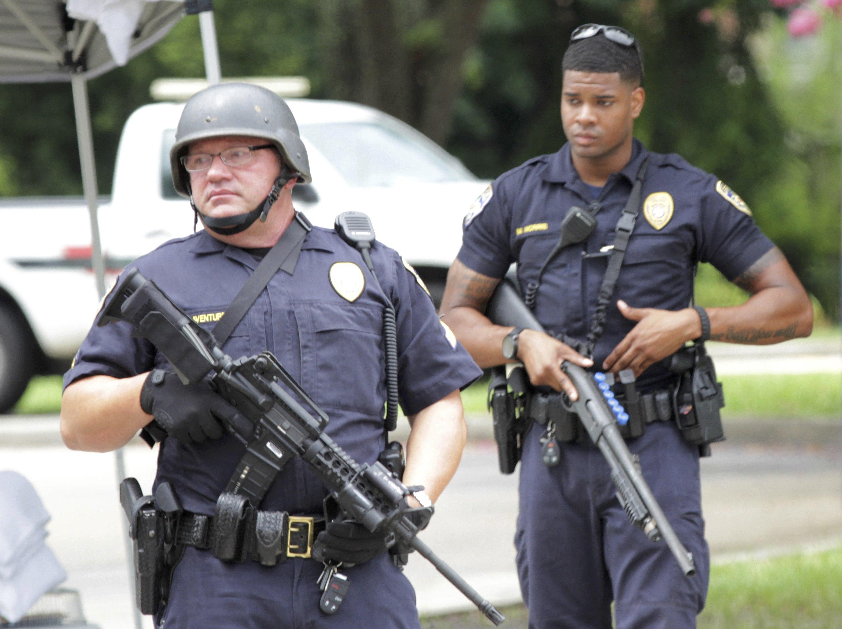 Baton Rouge Shooter Set Up Quot Ambush Quot Quot Seeking Out Police