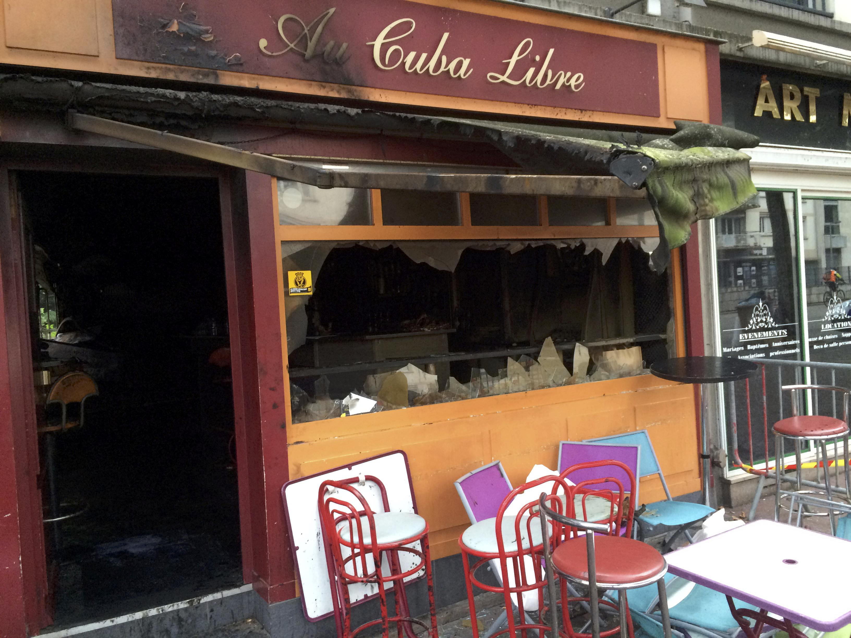 deadly fire sweeps through birthday party at basement bar in rouen france cbs news. Black Bedroom Furniture Sets. Home Design Ideas