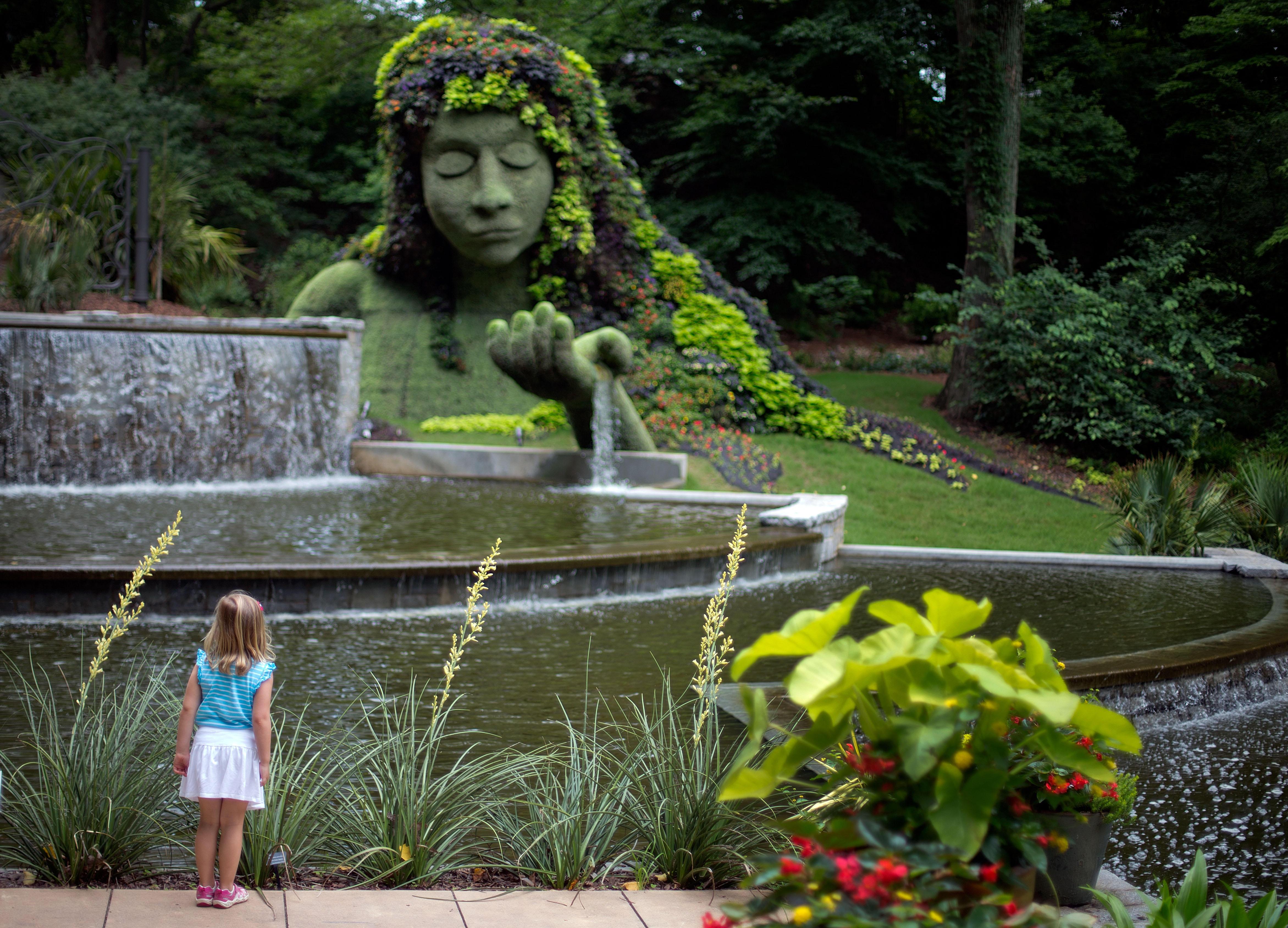 Atlanta botanical garden 39 s gun ban upheld by judge cbs news - Atlanta botanical garden membership ...
