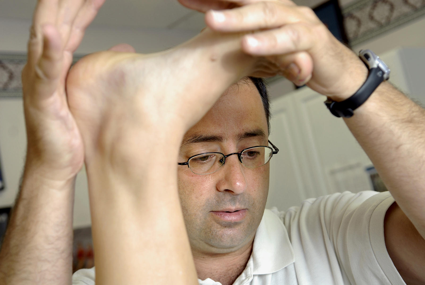 Larry Nassar, ex-USA Gymnastics doctor, pleads not guilty ... - photo#36