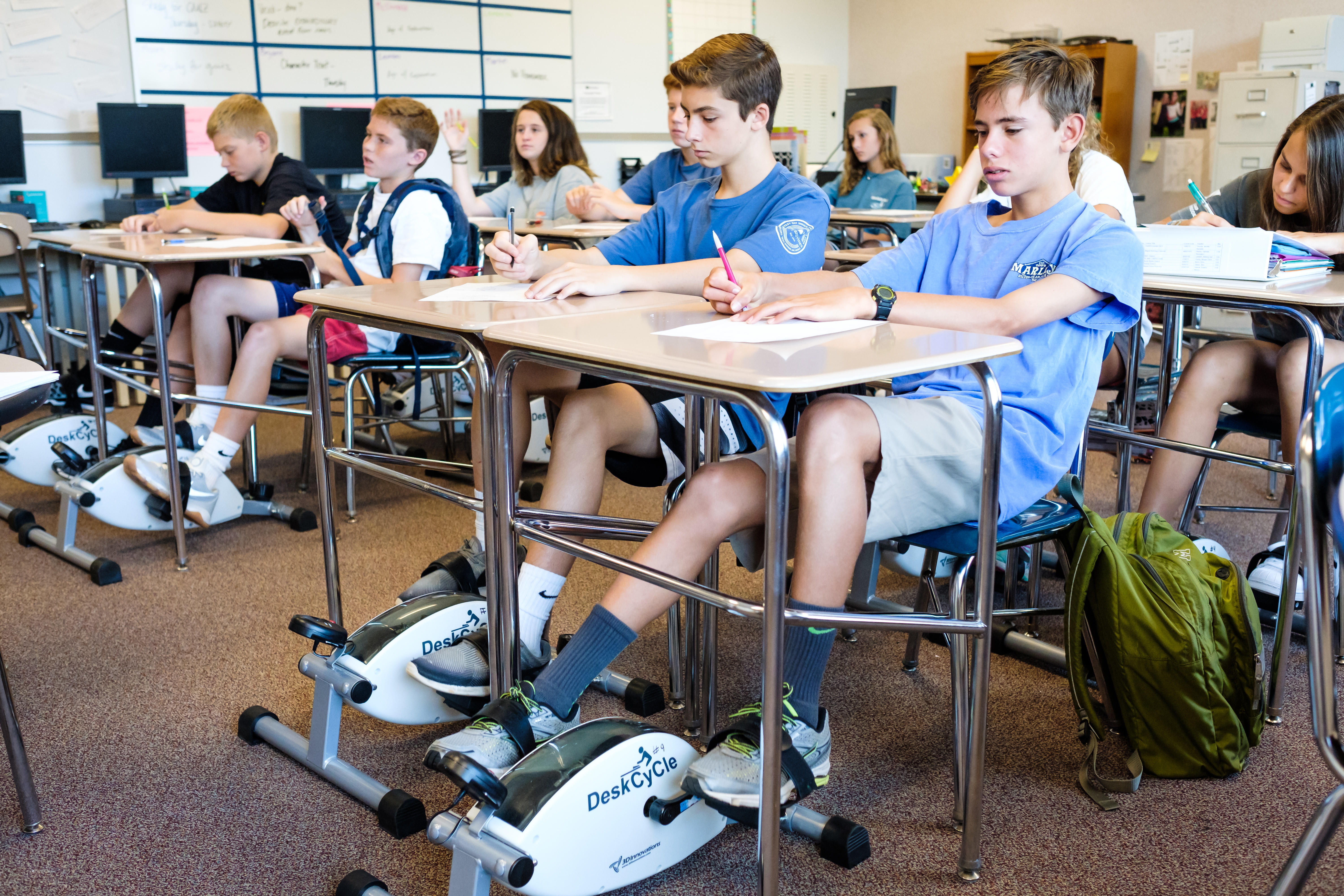 These North Carolina Middle School Students Are Pedaling