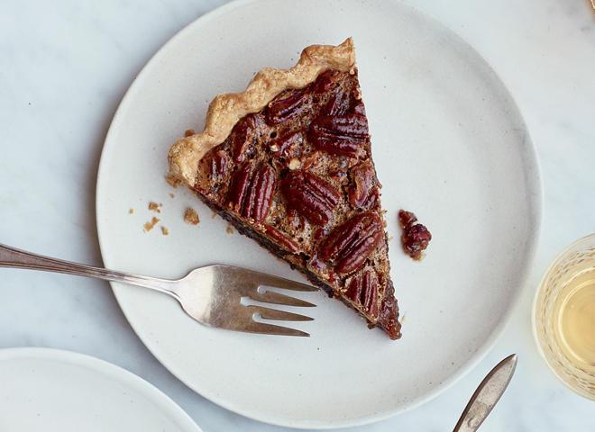 Recipe: Brown Butter Pecan Pie with Espresso Dates - CBS News