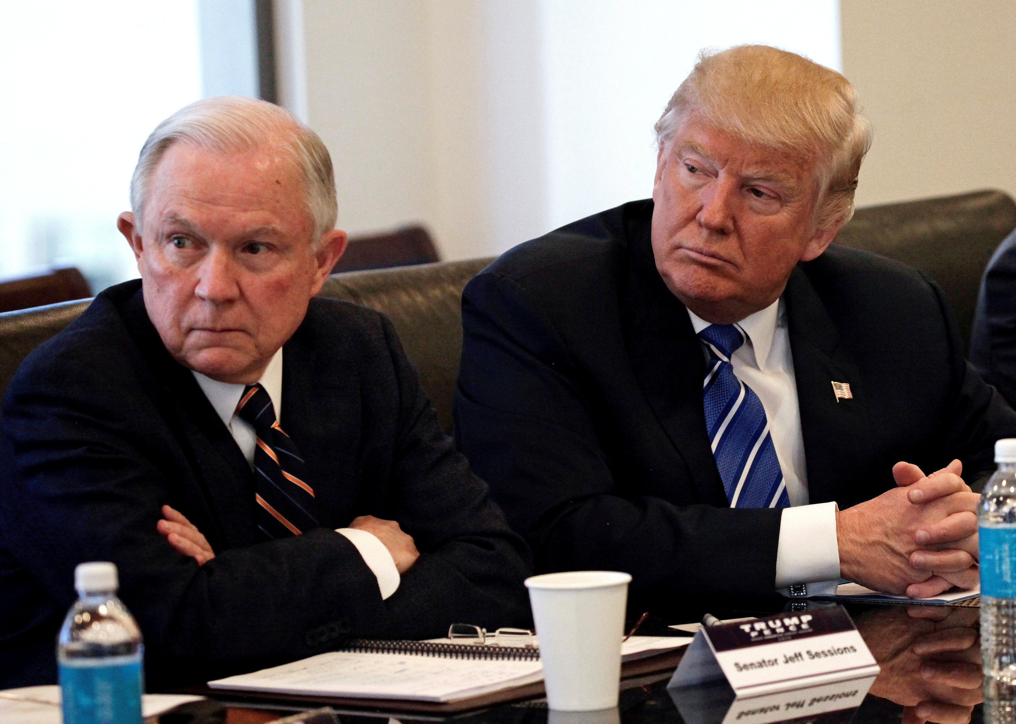 dailycallercom Reports Trump discussing firing Attorney General