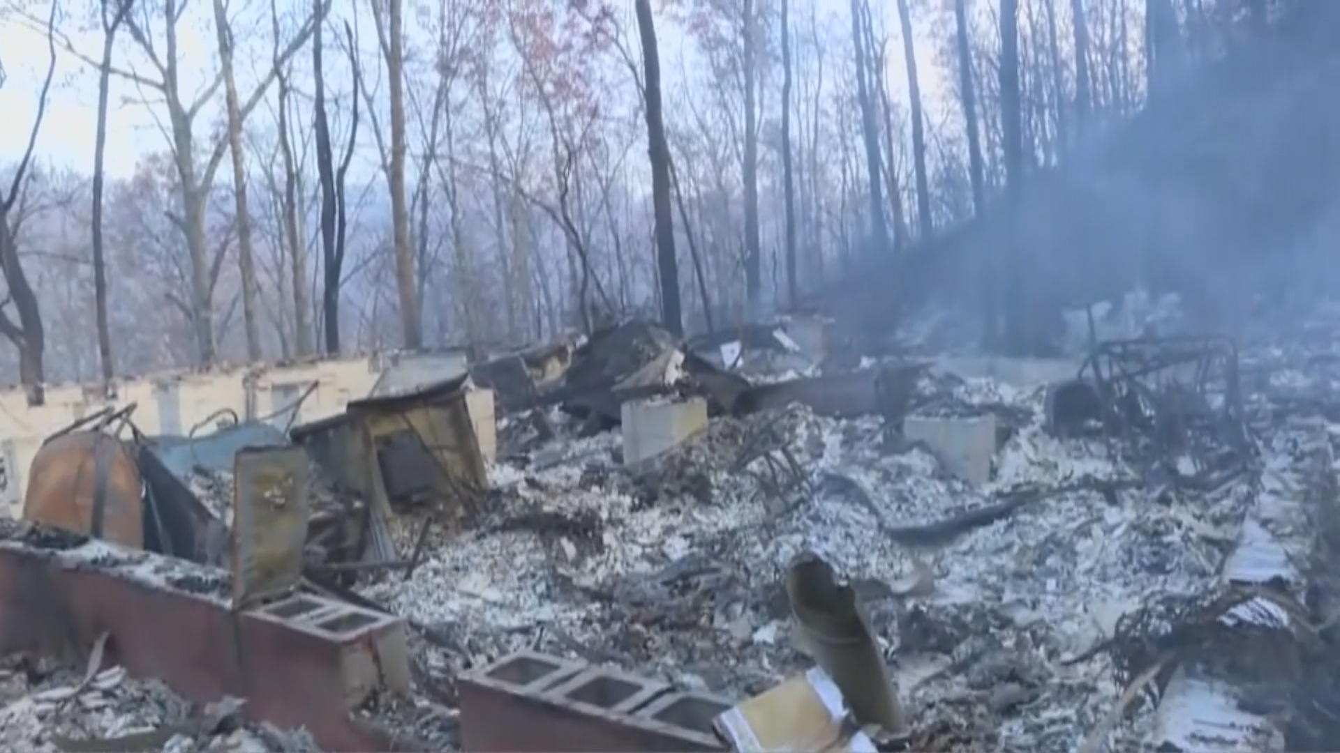 Tennessee wildfire: Three dead, more than 150 homes ...