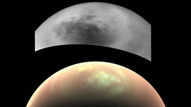 Strange clouds linger on Saturn's moon Titan - CBS News