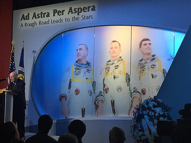Apollo 1 crew honored, 50 years after fatal fire on launch ...