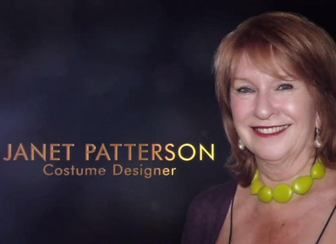 The Academy Awards tribute to the late costume designer Janet Patterson used a photo of a living producer instead. (photo credit: ABC)