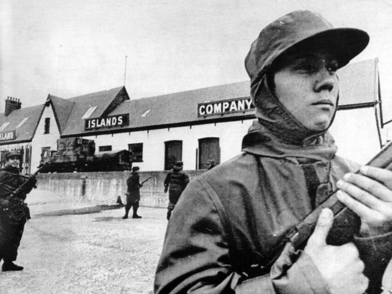 Almanac: The Falklands War