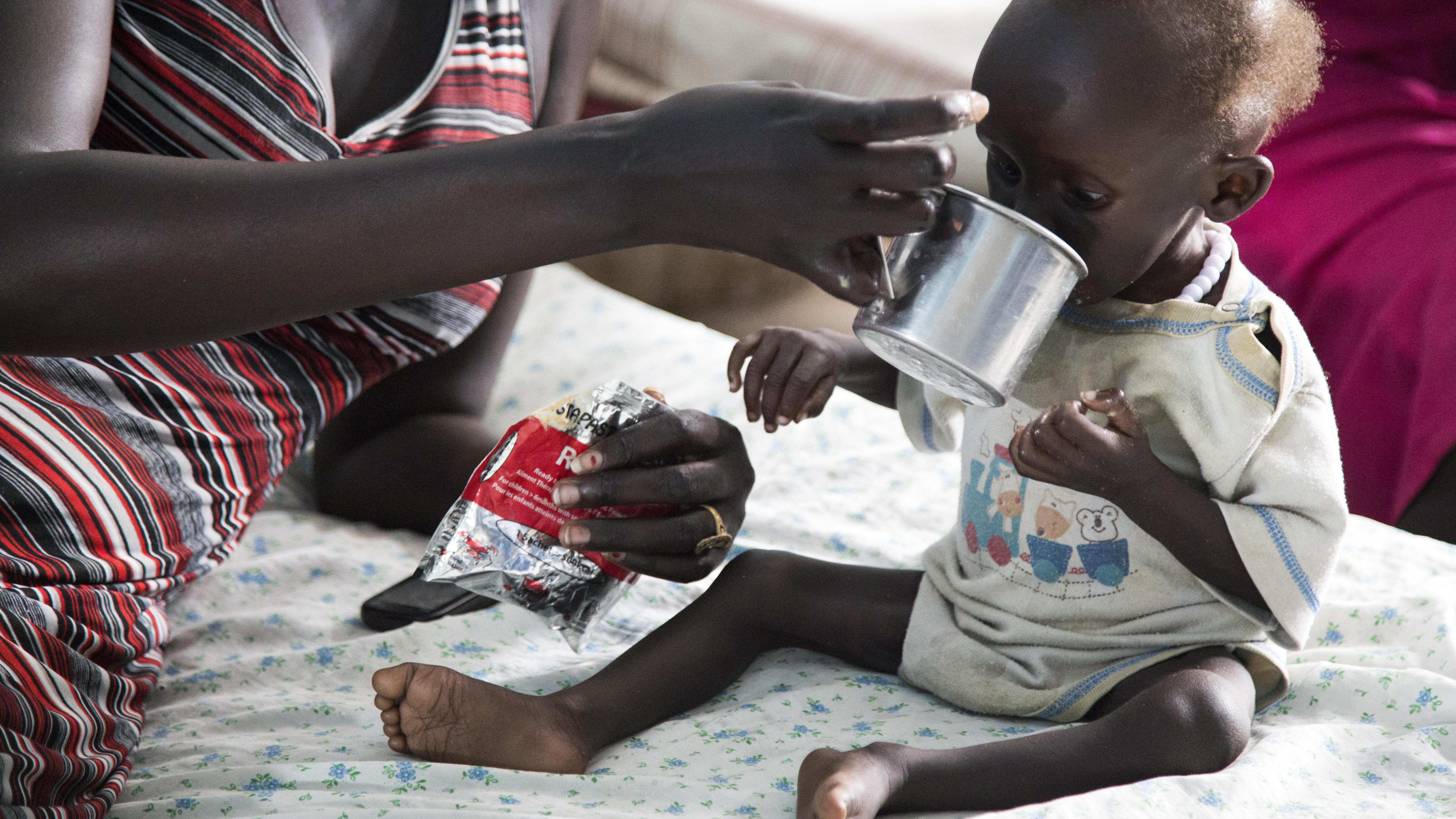 Fighting Famine In War Torn South Sudan Cbs News