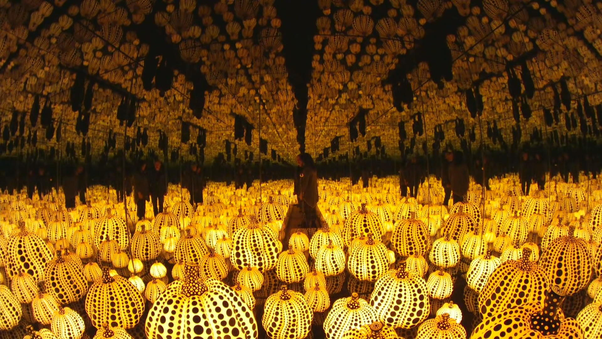Enter legendary artist Yayoi Kusama's infinite world