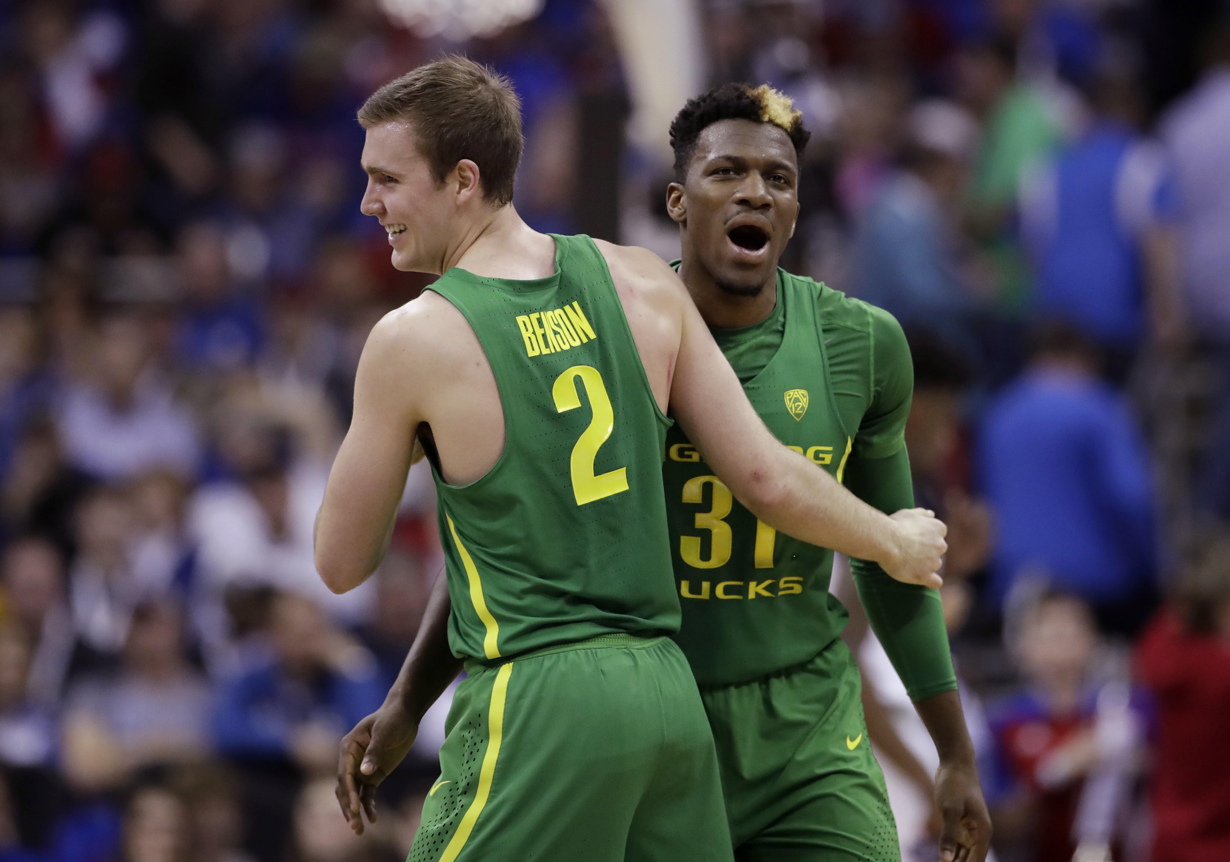 Oregon is in the Final Four. Tyler Dorsey poured in 27 points 88c19f5c1