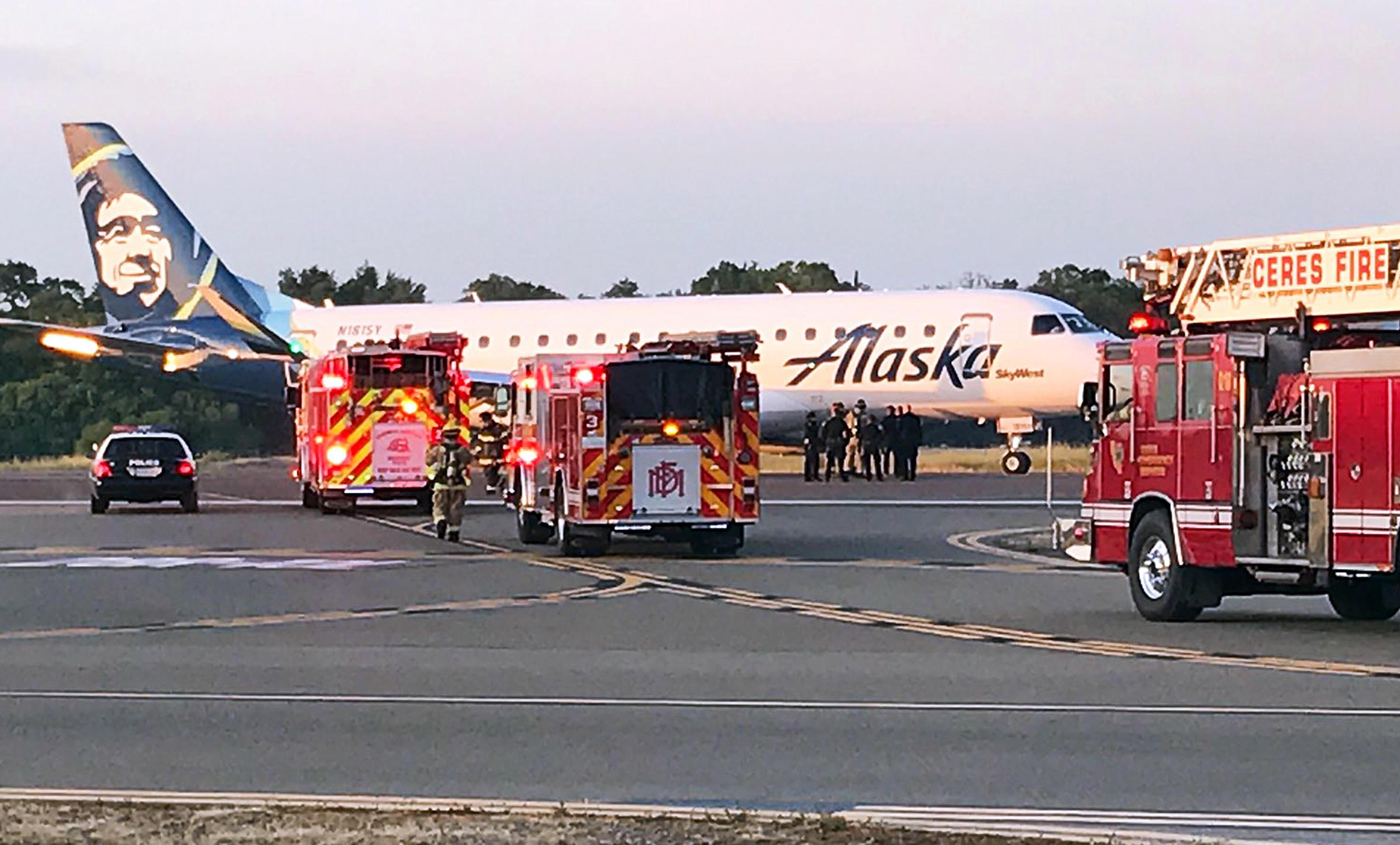 Alaska Airlines Flight 3391 Forced To Make Unplanned