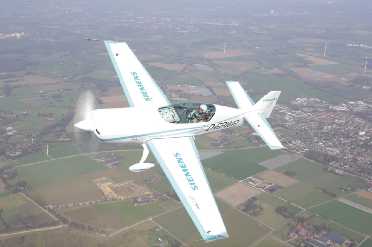 electric plane sets new speed record cbs news