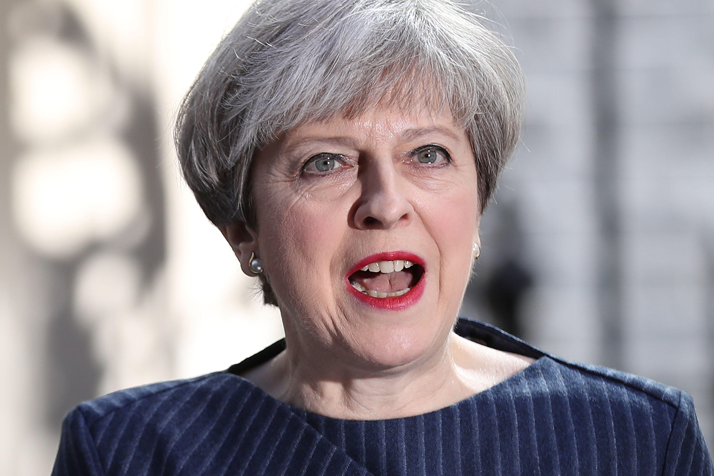 Theresa May general election call in Britain a play for ...