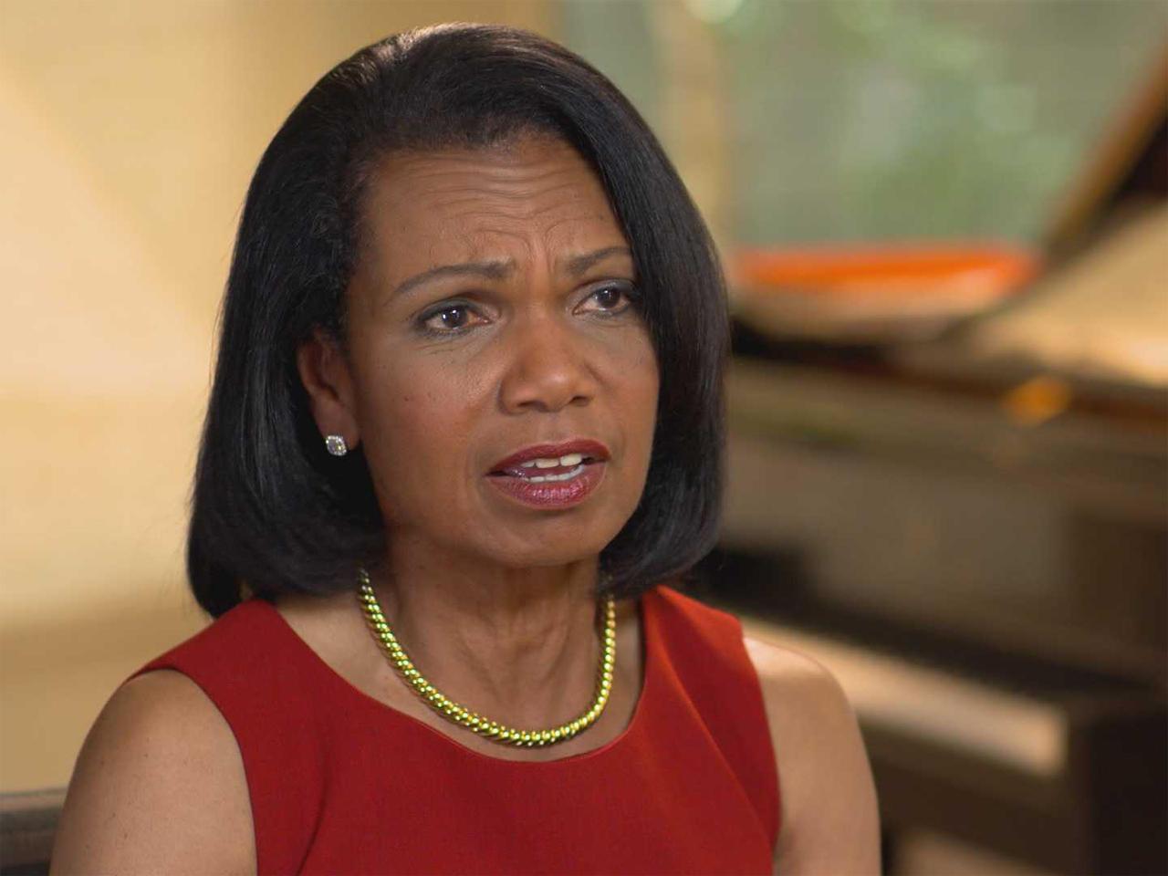 """Condoleezza Rice: Putin an """"eye-for-an-eye kind of guy"""