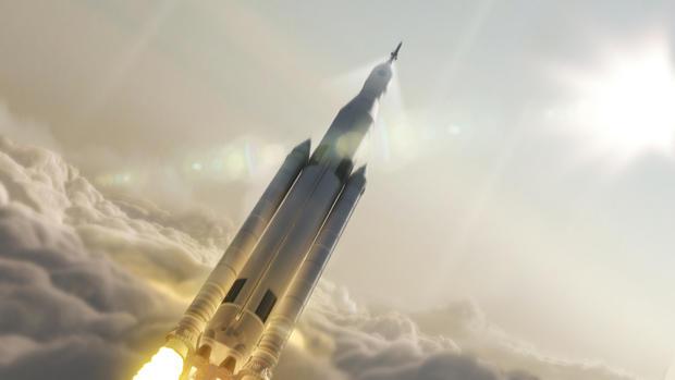 SLS super rocket
