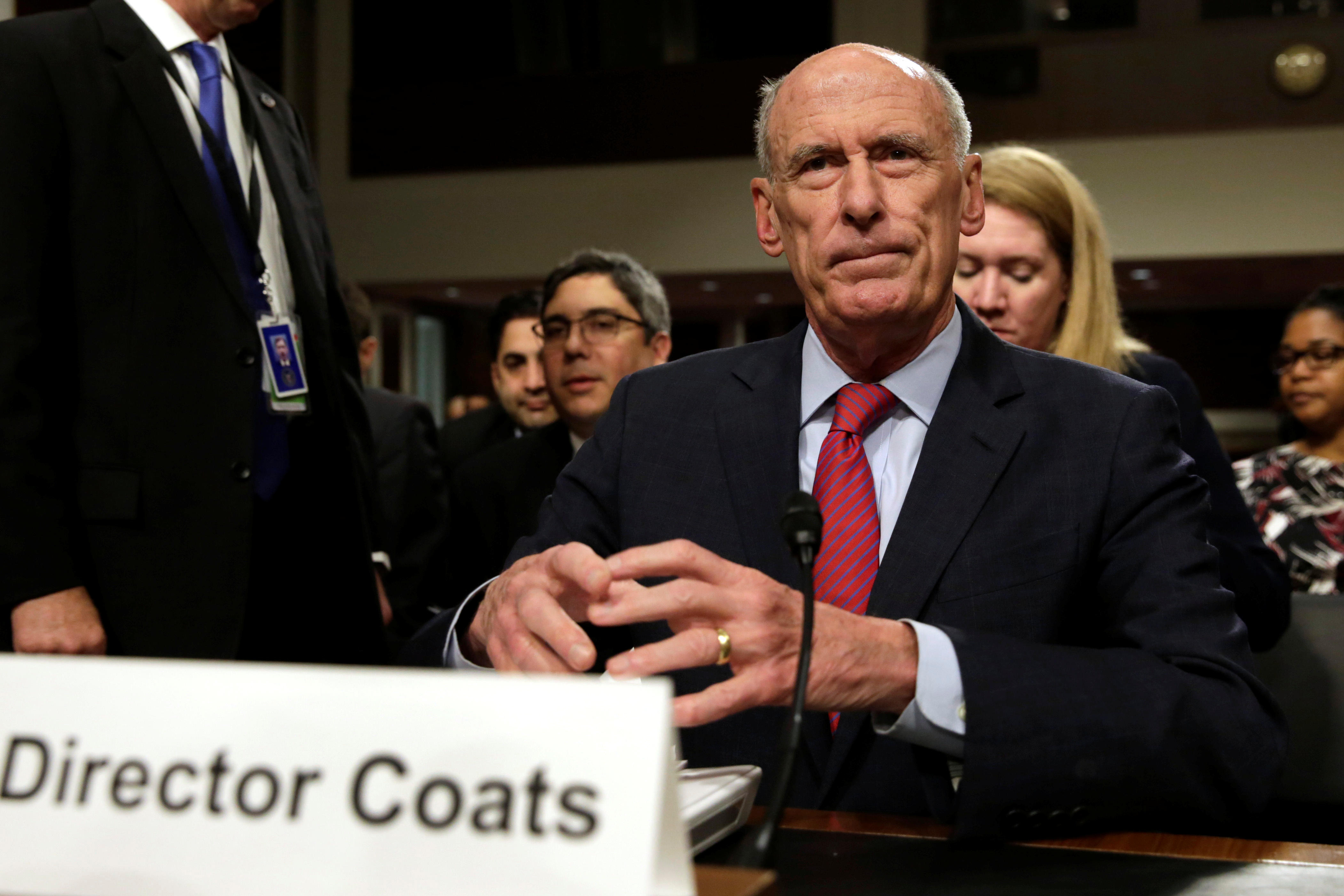 washingtonpost.com Dan Coats won t say whether Trump asked him to push back 349416eae